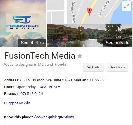 FusionTech Media | Local Listings